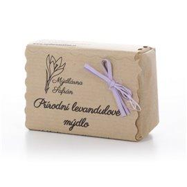 Levandulové přírodní mýdlo 100g