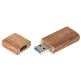"USB dřevěný flash disk 16GB ""Zebrano"""