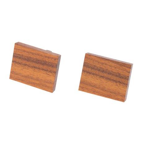 """Dřevěné manžetové knoflíčky """"Palisandr"""""""