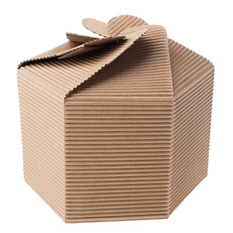 "Šestihranná dárková krabička """
