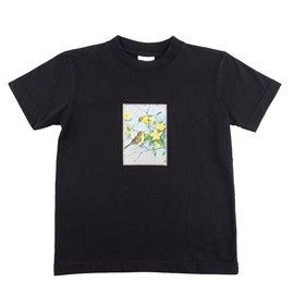 """Dětské tričko s nášivkou """"Šikovní ptáčci"""""""