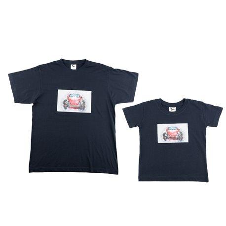 """Duet - pánské a dětské tričko s potiskem """"Volkswagen Brouk"""""""