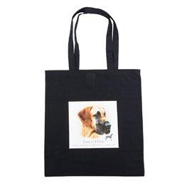 """Nákupní látková taška na rameno """"Německá doga"""""""