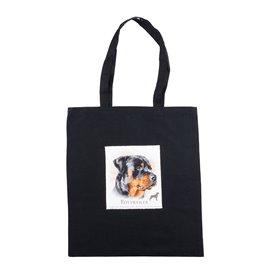 """Nákupní látková taška na rameno """"Rotvajler"""""""