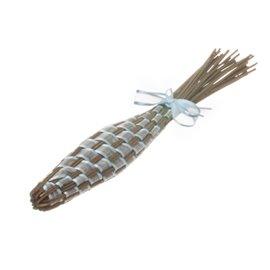 Levandulová palice s bledě modrou stužkou