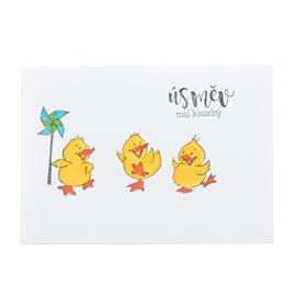 """Přáníčko """"Tři kachničky"""""""