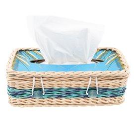 """Box na papírové kapesníky """"Modřinka"""""""