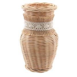 """Proutěná přírodní váza """"Elizabeth"""""""