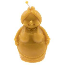 """Svíčka ze včelího vosku """"Hodná babička"""""""