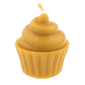 """Svíčka ze včelího vosku """"Sladký muffinek"""""""