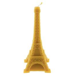 """Svíčka ze včelího vosku """"Eiffelova věž"""""""