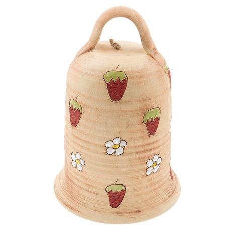 """Velký keramický zvon """"Fragaria"""""""