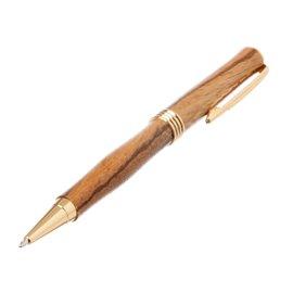"""Luxusní kuličkové dřevěné pero """"Exotické zebrano"""""""