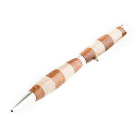 """Elegantní dřevěné kuličkové pero """"Javor-merbau"""""""