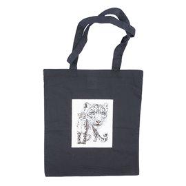 """Nákupní látková taška na rameno """"Elegantní levhart"""""""