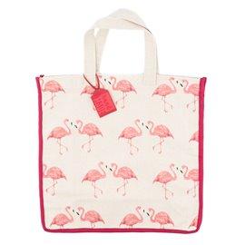 """Látková nákupní taška """"Elegantní plameňák"""""""
