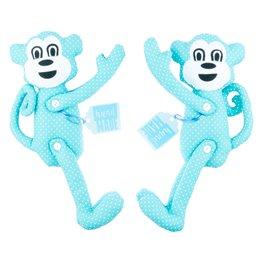 """Dekorační spony na závěsy sada """"Opičí duo"""""""