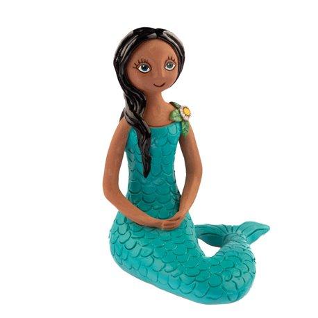 """Keramická postavička """"Malá mořská víla"""""""
