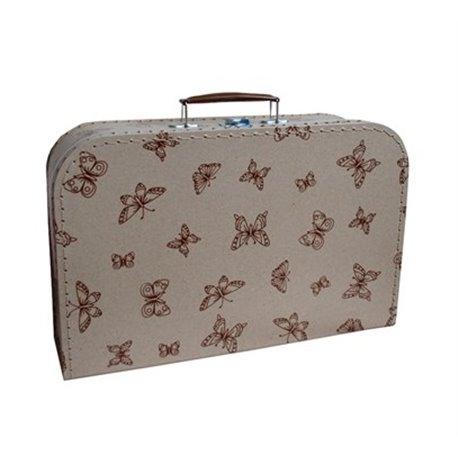 Kufřík s motýlky 35cm