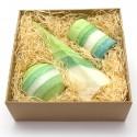 Mega svíčkový dárek zelený