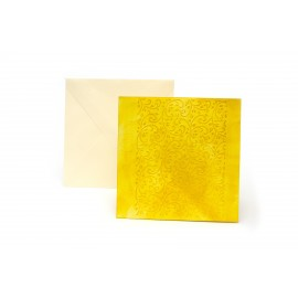 "Přáníčko ""Žlutý safír"""