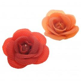 """Svíčka růže """"Medový duet"""""""