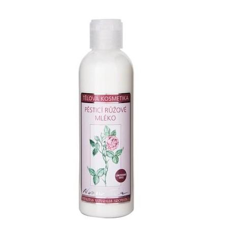Pěstící tělové mléko s vůní růže 200ml - limitovaná edice
