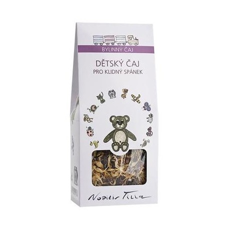 Dětský bylinný čaj pro klidný spánek - Nobilis Tilia