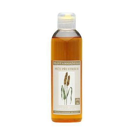 Tělový a masářní olej péče při striích 200ml Nobilis