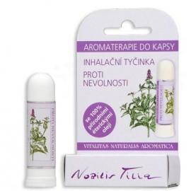 Inhalační tyčinka proti nevolnosti 10ml - Nobilis Tillia