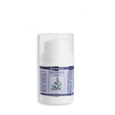 Šalvějový gel pro mastnou a problematckou pleť 50 ml