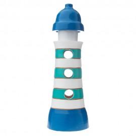 Maják modrý - dekorace i svícen