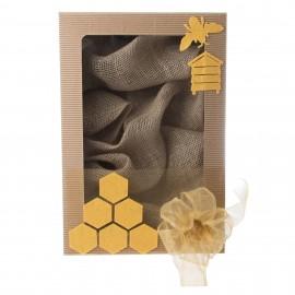 """Dárková krabička """"Včelí úl"""""""