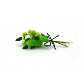 Zelená kytička - 10 cm