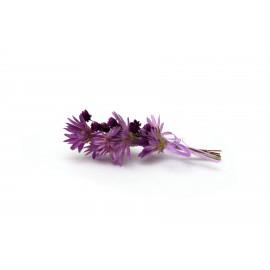 Fialová kytičky - 10 cm