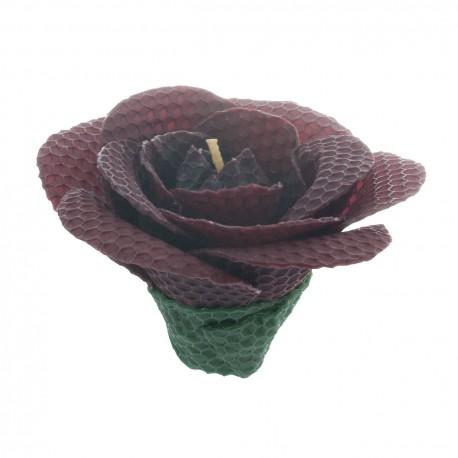 """Svíčka """"Fialová medová růže"""""""