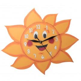 Sluníčkové hodiny na zeď