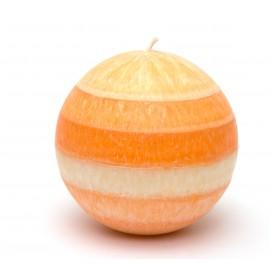 Svíčka mandarinková mega koule