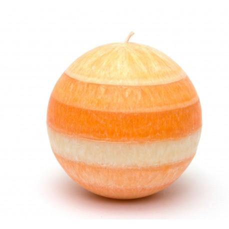 Svíčka mega mandarinková koule