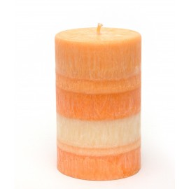 Svíčka válec - mandarinka