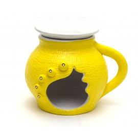 Žlutá aromalampa
