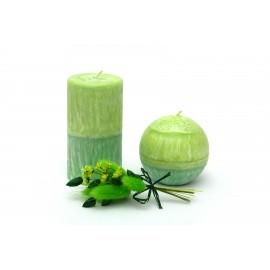 Malé svíčky z palmového vosku