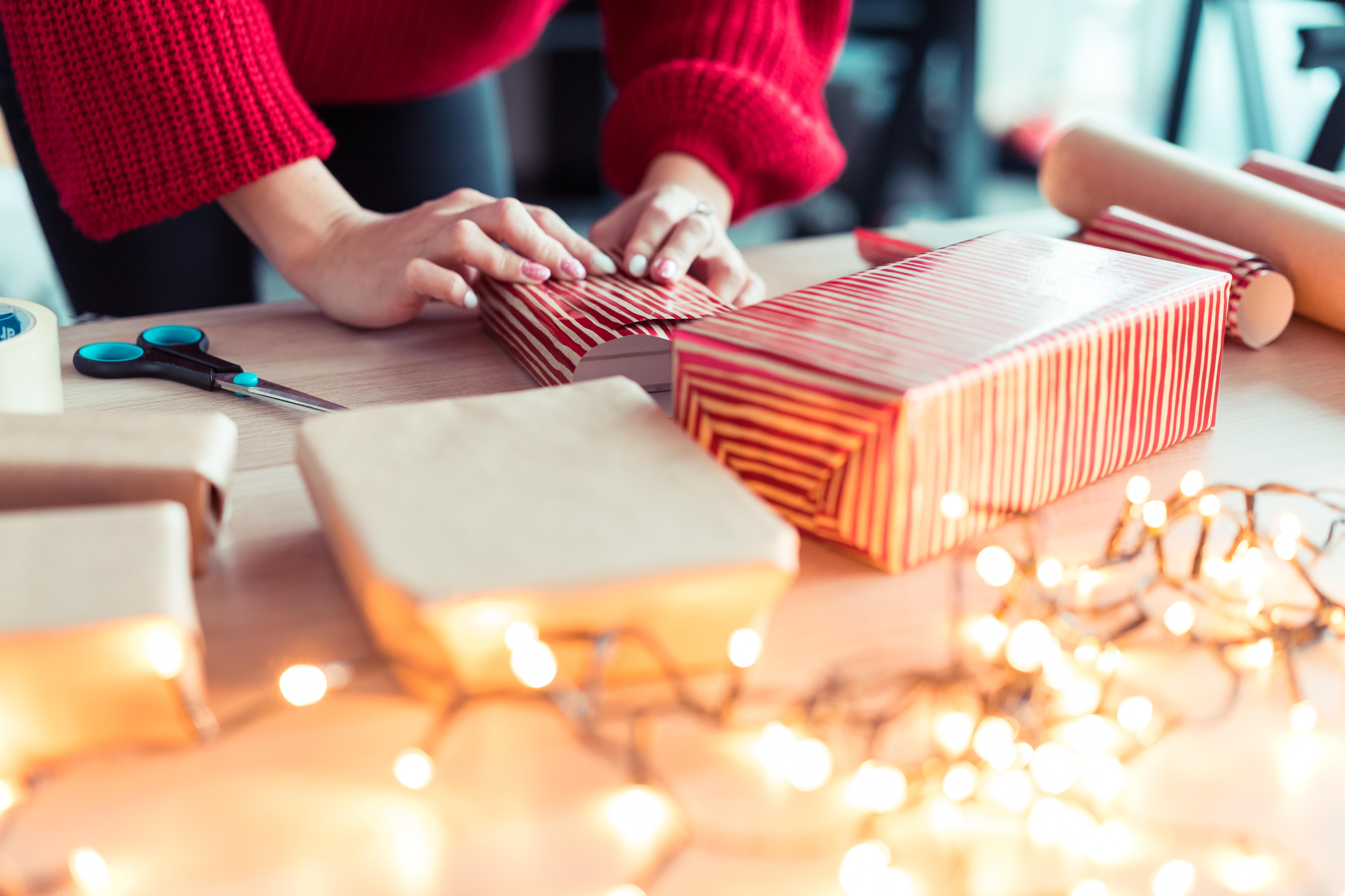 tipy pro hezké balení dárků